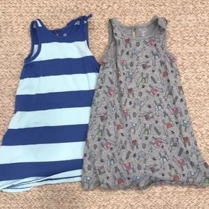 Gap 4t lot of two tank dresses